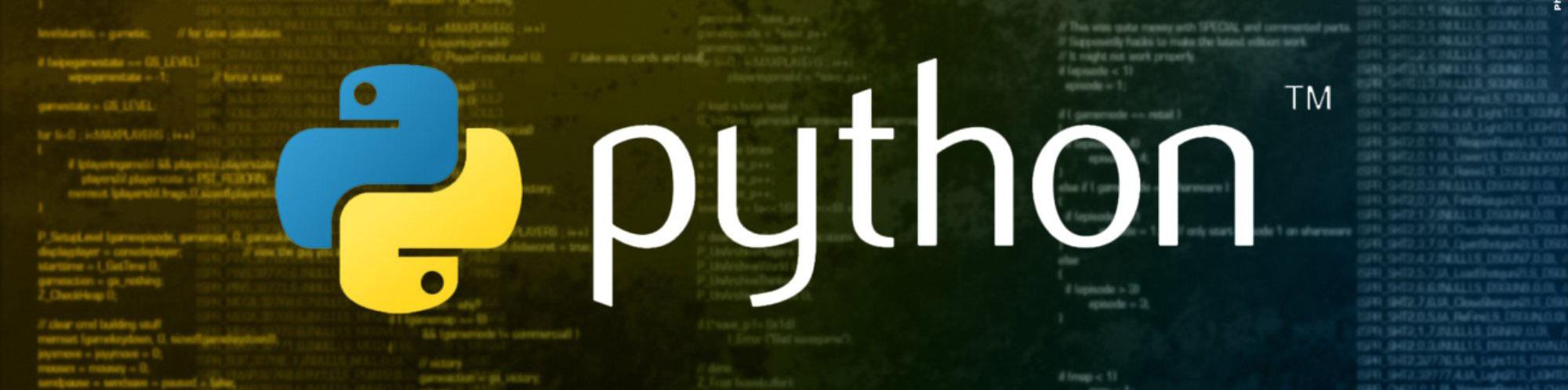 Training in python
